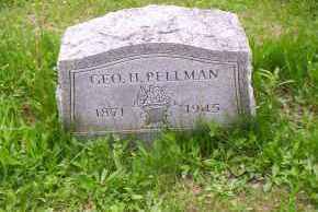 PELLMAN, GEORGE H. - Shelby County, Ohio | GEORGE H. PELLMAN - Ohio Gravestone Photos
