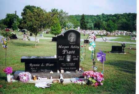 PIATT, MORGAN ASHLEY - Shelby County, Ohio | MORGAN ASHLEY PIATT - Ohio Gravestone Photos