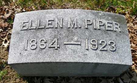 PIPER, ELLEN M. - Shelby County, Ohio | ELLEN M. PIPER - Ohio Gravestone Photos
