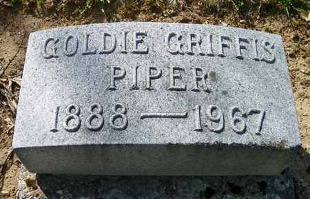 PIPER, GOLDIE - Shelby County, Ohio | GOLDIE PIPER - Ohio Gravestone Photos