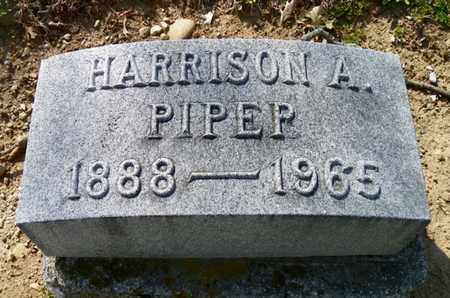 PIPER, HARRISON A. - Shelby County, Ohio | HARRISON A. PIPER - Ohio Gravestone Photos