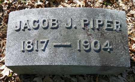 PIPER, JACOB J. - Shelby County, Ohio | JACOB J. PIPER - Ohio Gravestone Photos