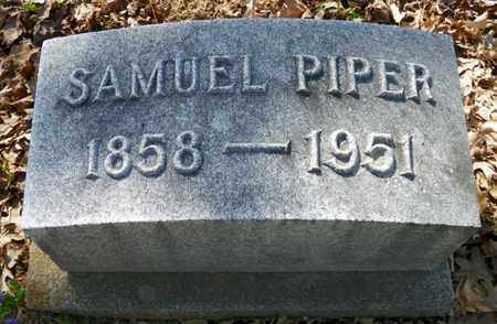 PIPER, SAMUEL - Shelby County, Ohio | SAMUEL PIPER - Ohio Gravestone Photos