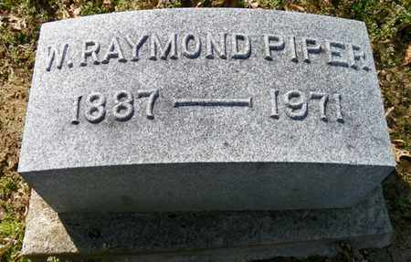 PIPER, W.  RAYMOND - Shelby County, Ohio | W.  RAYMOND PIPER - Ohio Gravestone Photos