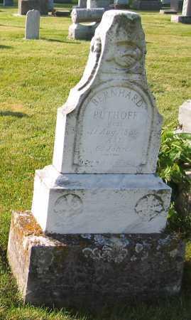 PUTHOFF, BERNHARD - Shelby County, Ohio | BERNHARD PUTHOFF - Ohio Gravestone Photos