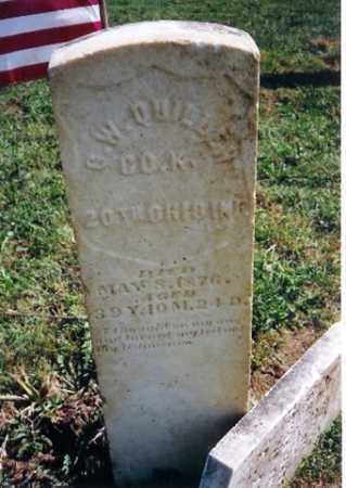 QUILLEN, Q W - Shelby County, Ohio   Q W QUILLEN - Ohio Gravestone Photos