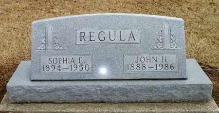REGULA, JOHN H. - Shelby County, Ohio | JOHN H. REGULA - Ohio Gravestone Photos