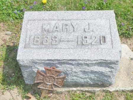 RITCHIE, MARY J. - Shelby County, Ohio | MARY J. RITCHIE - Ohio Gravestone Photos