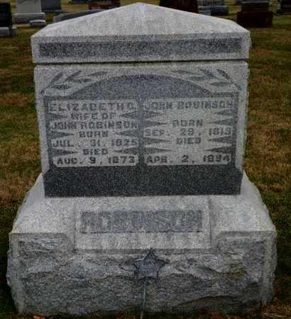 ROBINSON, JOHN - Shelby County, Ohio   JOHN ROBINSON - Ohio Gravestone Photos
