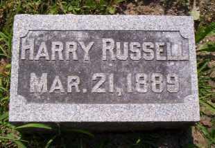 RUSSELL, HARRY - Shelby County, Ohio | HARRY RUSSELL - Ohio Gravestone Photos