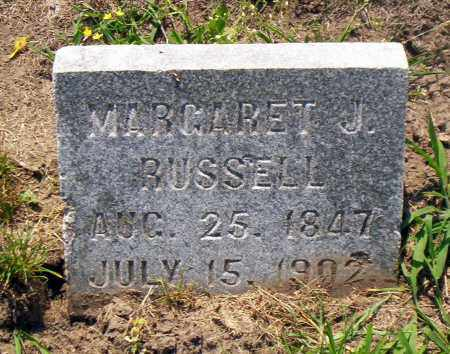 RUSSELL, MARGARET J. - Shelby County, Ohio | MARGARET J. RUSSELL - Ohio Gravestone Photos