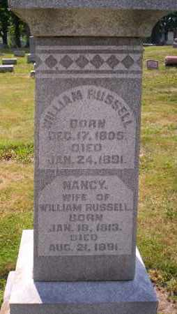 RUSSELL, NANCY - Shelby County, Ohio | NANCY RUSSELL - Ohio Gravestone Photos