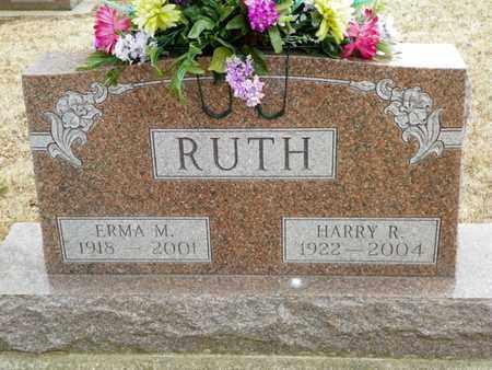 RUTH, ERMA M. - Shelby County, Ohio | ERMA M. RUTH - Ohio Gravestone Photos