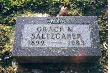 SALTZCABER, GRACE M. - Shelby County, Ohio | GRACE M. SALTZCABER - Ohio Gravestone Photos