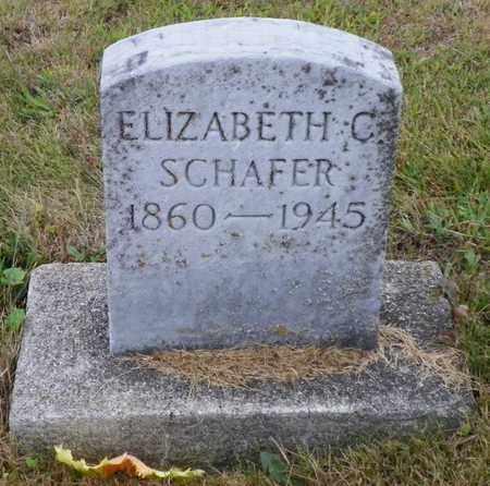 SCHAFER, ELIZABETH C. - Shelby County, Ohio | ELIZABETH C. SCHAFER - Ohio Gravestone Photos