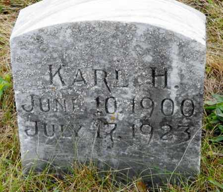 SCHAFER, KARL H. - Shelby County, Ohio   KARL H. SCHAFER - Ohio Gravestone Photos