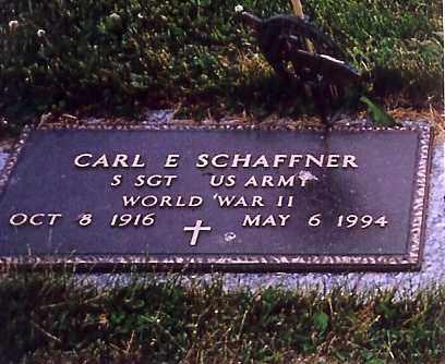 SCHAFFNER, CARL E. - Shelby County, Ohio   CARL E. SCHAFFNER - Ohio Gravestone Photos