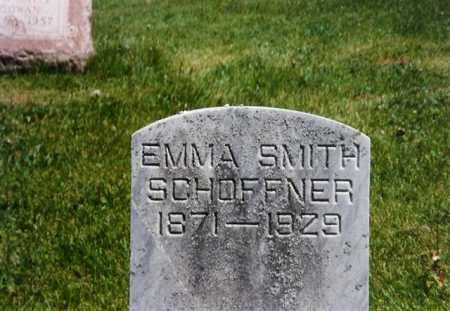 SCHAFFNER, EMMA SMITH - Shelby County, Ohio | EMMA SMITH SCHAFFNER - Ohio Gravestone Photos