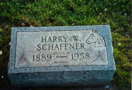SCHAFFNER, HARRY W - Shelby County, Ohio | HARRY W SCHAFFNER - Ohio Gravestone Photos