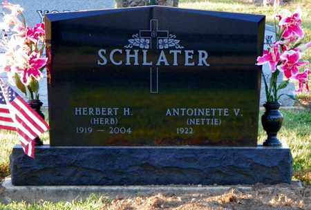 SCHLATER, HERBERT H. - Shelby County, Ohio | HERBERT H. SCHLATER - Ohio Gravestone Photos