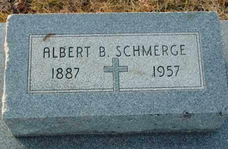 SCHMERGE, ALBERT B - Shelby County, Ohio   ALBERT B SCHMERGE - Ohio Gravestone Photos