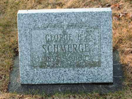 SCHMERGE, GEORGE H - Shelby County, Ohio | GEORGE H SCHMERGE - Ohio Gravestone Photos