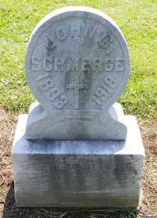 SCHMERGE, JOHN G. - Shelby County, Ohio | JOHN G. SCHMERGE - Ohio Gravestone Photos