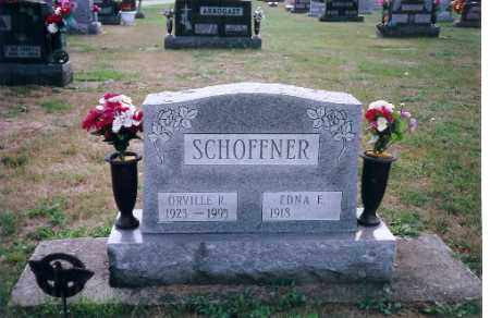 SCHOFFNER, ORVILLE RAY - Shelby County, Ohio | ORVILLE RAY SCHOFFNER - Ohio Gravestone Photos