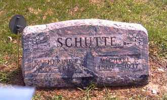 SCHUTTE, MICHAEL F. - Shelby County, Ohio | MICHAEL F. SCHUTTE - Ohio Gravestone Photos