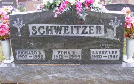 SCHWEITZER, EDNA R - Shelby County, Ohio | EDNA R SCHWEITZER - Ohio Gravestone Photos