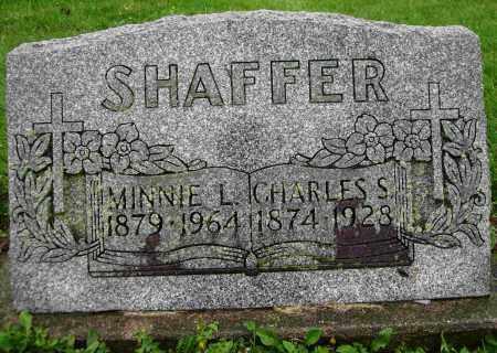 SHAFFER, MINNIE L. - Shelby County, Ohio | MINNIE L. SHAFFER - Ohio Gravestone Photos