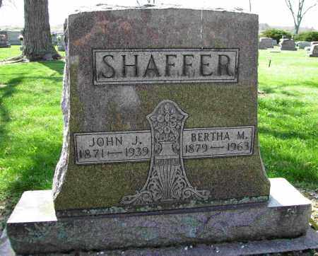 SHAFFER, BERTHA M. - Shelby County, Ohio | BERTHA M. SHAFFER - Ohio Gravestone Photos