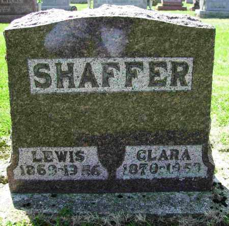 SHAFFER, LEWIS - Shelby County, Ohio | LEWIS SHAFFER - Ohio Gravestone Photos