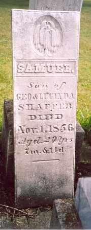 SHAFFER, SAMUEL - Shelby County, Ohio   SAMUEL SHAFFER - Ohio Gravestone Photos