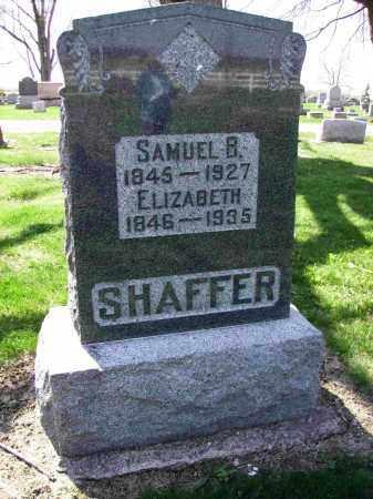 SHAFFER, ELIZABETH - Shelby County, Ohio | ELIZABETH SHAFFER - Ohio Gravestone Photos