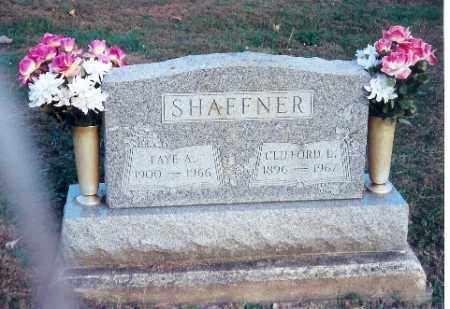 SHAFFNER, CLIFFORD L. - Shelby County, Ohio | CLIFFORD L. SHAFFNER - Ohio Gravestone Photos