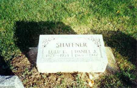 SHAFFNER, DANIEL - Shelby County, Ohio | DANIEL SHAFFNER - Ohio Gravestone Photos