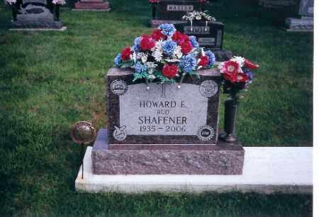 SHAFFNER, HOWARD E. - Shelby County, Ohio | HOWARD E. SHAFFNER - Ohio Gravestone Photos