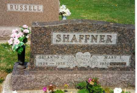 SHAFFNER, ORLANDO C. - Shelby County, Ohio   ORLANDO C. SHAFFNER - Ohio Gravestone Photos
