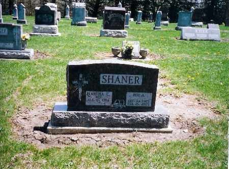 SHANER, ROY A. - Shelby County, Ohio   ROY A. SHANER - Ohio Gravestone Photos