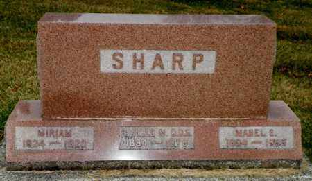 SHARP, MABEL S. - Shelby County, Ohio | MABEL S. SHARP - Ohio Gravestone Photos