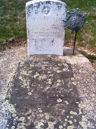 SHAW, THOMAS - Shelby County, Ohio   THOMAS SHAW - Ohio Gravestone Photos