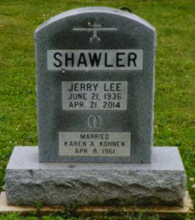 SHAWLER, JERRY LEE - Shelby County, Ohio | JERRY LEE SHAWLER - Ohio Gravestone Photos