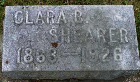SHEARER, CLARA B. - Shelby County, Ohio | CLARA B. SHEARER - Ohio Gravestone Photos