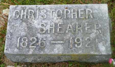 SHEARER, CHRISTOPHER - Shelby County, Ohio   CHRISTOPHER SHEARER - Ohio Gravestone Photos