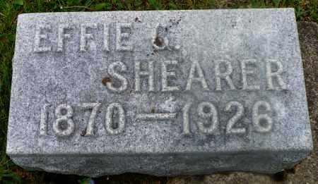 SHEARER, EFFIE G. - Shelby County, Ohio | EFFIE G. SHEARER - Ohio Gravestone Photos