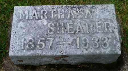 SHEARER, MARTHA A. - Shelby County, Ohio   MARTHA A. SHEARER - Ohio Gravestone Photos