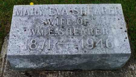 SHEARER, MARY EVA - Shelby County, Ohio | MARY EVA SHEARER - Ohio Gravestone Photos
