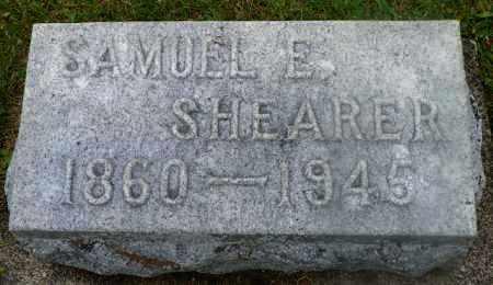 SHEARER, SAMUEL E. - Shelby County, Ohio | SAMUEL E. SHEARER - Ohio Gravestone Photos