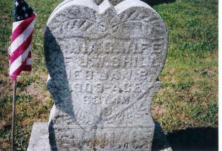 SHILL, ANNA - Shelby County, Ohio   ANNA SHILL - Ohio Gravestone Photos